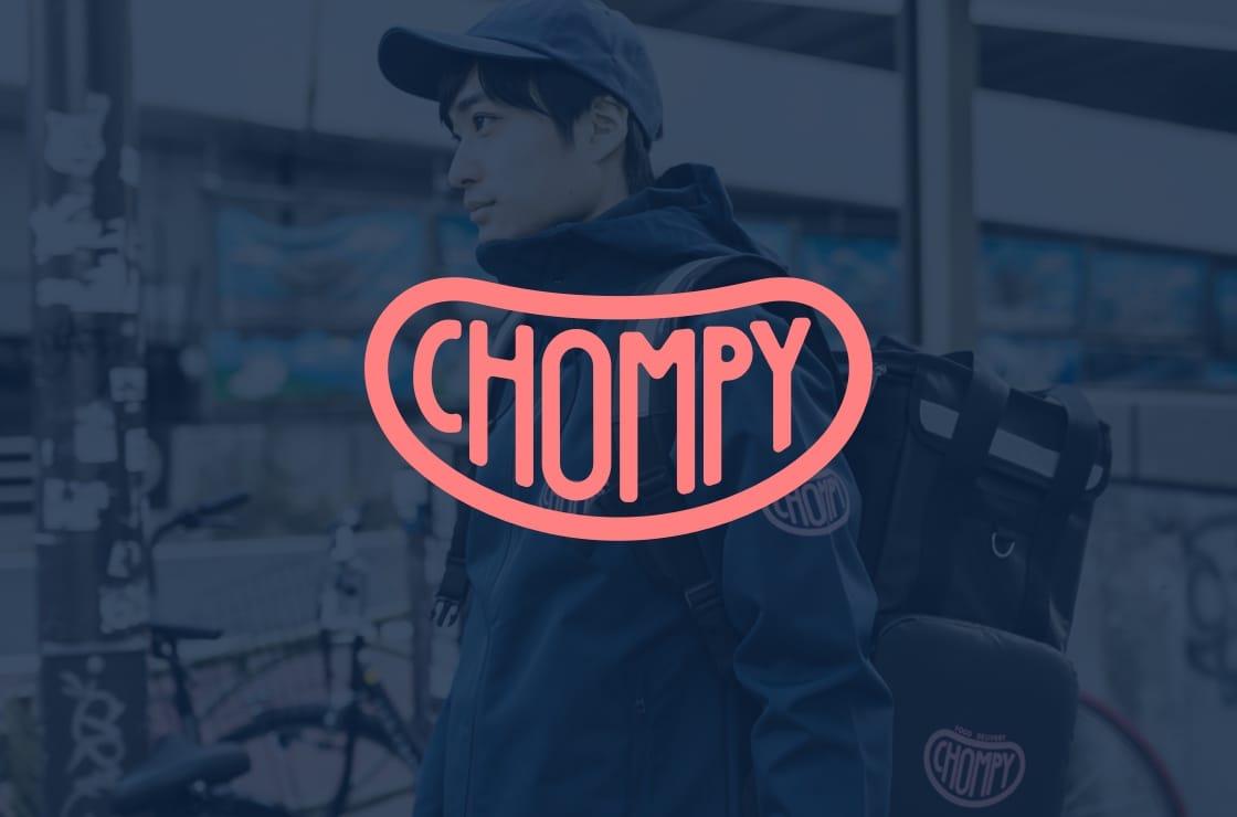 Chompy(チョンピー) | 国内発の新しいフードデリバリー
